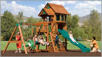 Carolina Playsets Children's Outdoor Wooden Playsets