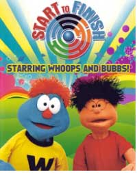 Start to Finish Starring Whoops and Bubbs Children's Educational DVD