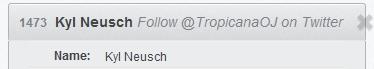 Tropicana Winner