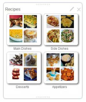 Clipix Recipes Multiboard