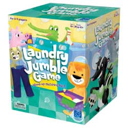 Educational Insights Laundry Jumble Game