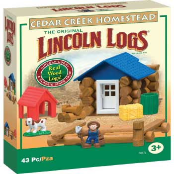 Lincoln Logs Cedar Creek Homestead from K'NEX