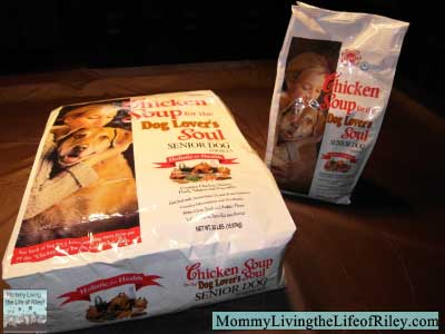 Mr. Chewy Chicken Soup for the Dog Lover's Soul Senior Dry Dog Food