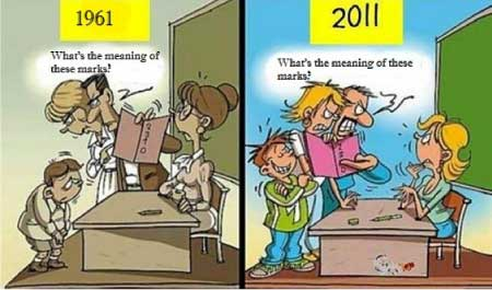 The Difference Between Then and Now