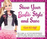 Show Your Barbie Style and Save