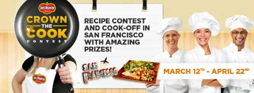Del Monte Crown the Cook Contest