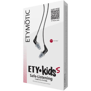 Etymotic Research ETY Kids ek5 Safe-Listening Earphones for Kids