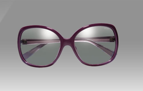 EX3D Bowie 3D Glasses in Purple