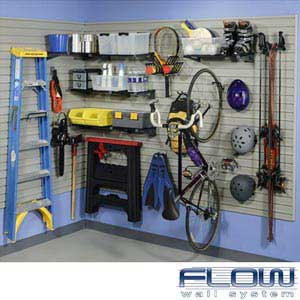 Flow Wall System Garage