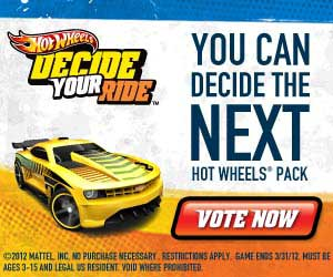 Hot Wheels You Can Decide the Next Hot Wheels Pack