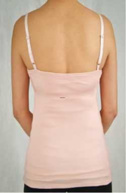 Wink Shapewear Nurse N Blast Top in Baby Pink