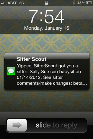 SitterScout Example
