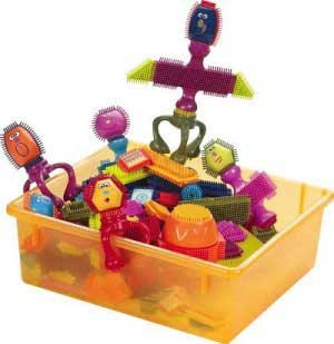 B. Toys Spinaroos Bristle Blocks