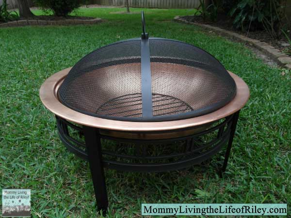 AvantGardenDecor.com CobraCo Copper Mission Fire Bowl