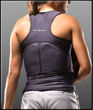 Review Evoshield Protective Chest And Back Racerback Can