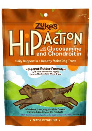 Zuke's Hip Action Treats