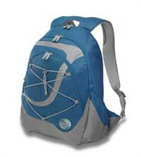 GreenSmart Mandrill Deluxe Backpack in Ocean Blue