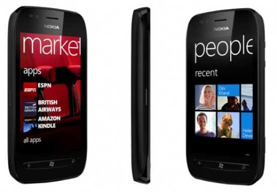 Nokia Lumia 710 Windows Smartphone
