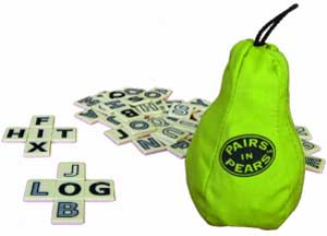 Pairs in Pears by Bananagrams