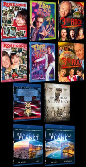 TV Flashbacks Retro Sitcoms DVDs