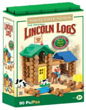 K'NEX Lincoln Logs White River Ranch