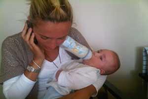 Multitasking Mom