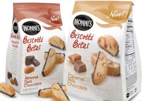 Nonni's Biscotti Bites
