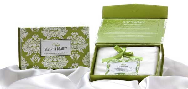 Sleep 'n Beauty Silk Pillowcases
