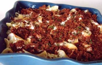 Gooseberry Patch Sour Cream Beef Casserole