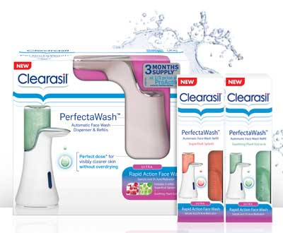 Clearasil PerfectaWash Automatic Face Wash Dispenser