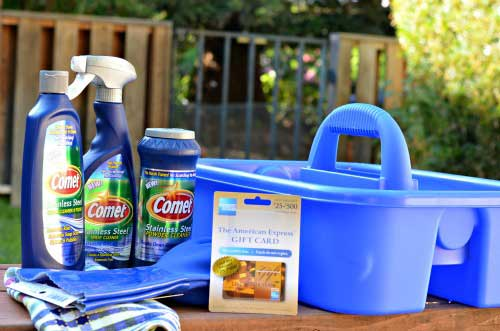 Comet Stainless Steel Cleaning Prize Pack