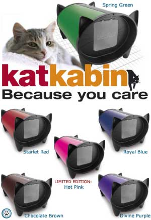 KatKabin DezRez is a luxurious outdoor cat house which gives your cat ...