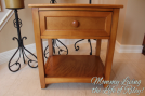 NE Kids Schoolhouse Nightstand in Pecan