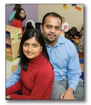 Kiddie Academy - Nirali and Pinakin