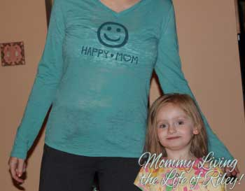 PeaceLoveMom Happy Mom Tee