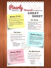 Pinterest Marketing Tips Cheat Sheet