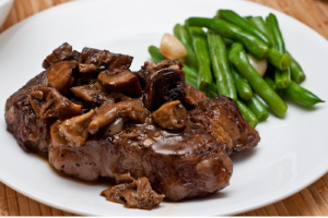 Ruth's Chris Steak House Filet & Wild Mushrooms