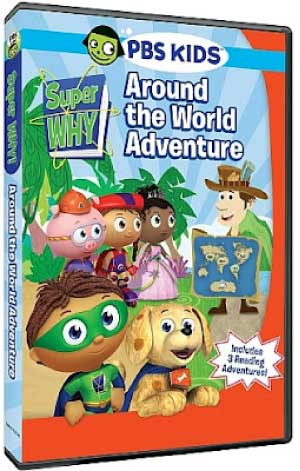 Super Why! Around the World Adventure DVD