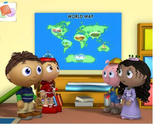 Super Why Around the World Adventure