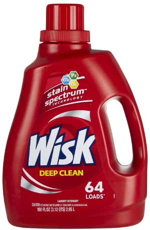 Wisk Deep Clean Laundry Detergent