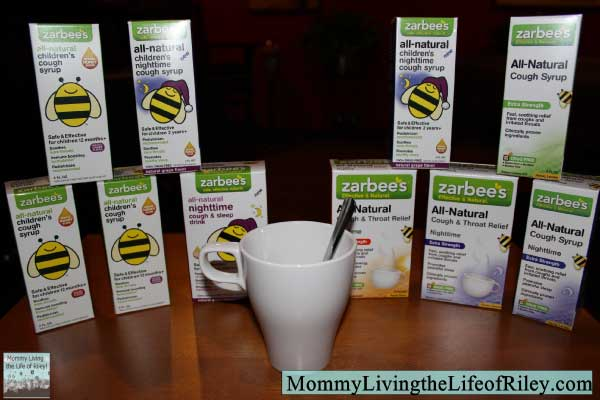 Zarbee's Cough Syrup Prize Pack
