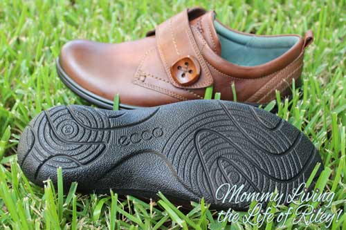 ECCO Clay Strap Shoes in Cocoa Brown