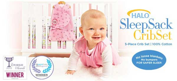 HALO SleepSack 5-Piece SafeSleep Crib Set