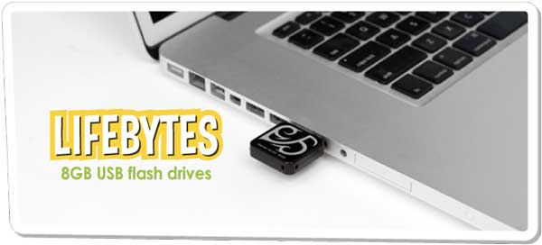 Dane-Elec LifeBytes 8GB USB Drive