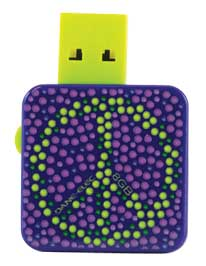 Dane-Elec Peace LifeBytes 8GB USB Drive