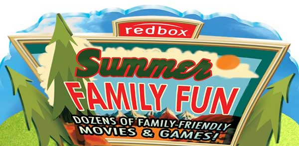 Redbox Summer Family Fun Sweepstakes