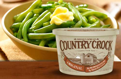 Country Crock Butter on Summer Veggies