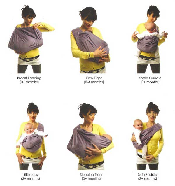 Joovy theBabaSling Organic Baby Carrier