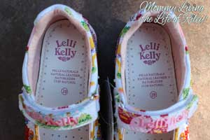 Lelli Kelly Zoo Girls Canvas Beaded Shoes