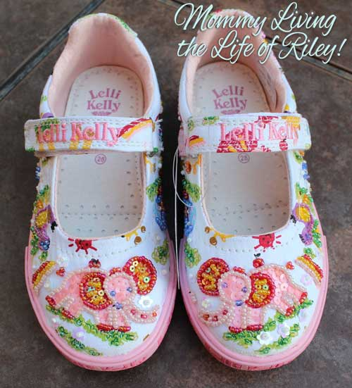 Lelli Kelly Zoo Girls Beaded Canvas Shoes